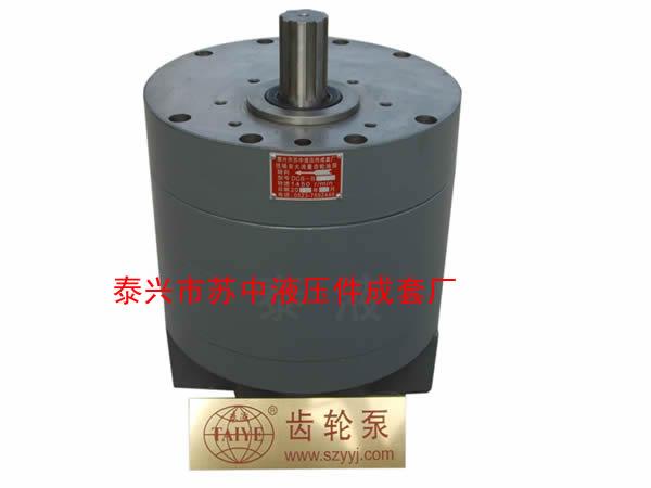 泰液DCB-B600~1000低噪音大流量齿轮泵(圆形)