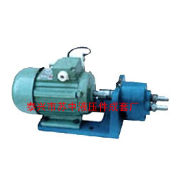 苏中S型齿轮输油泵